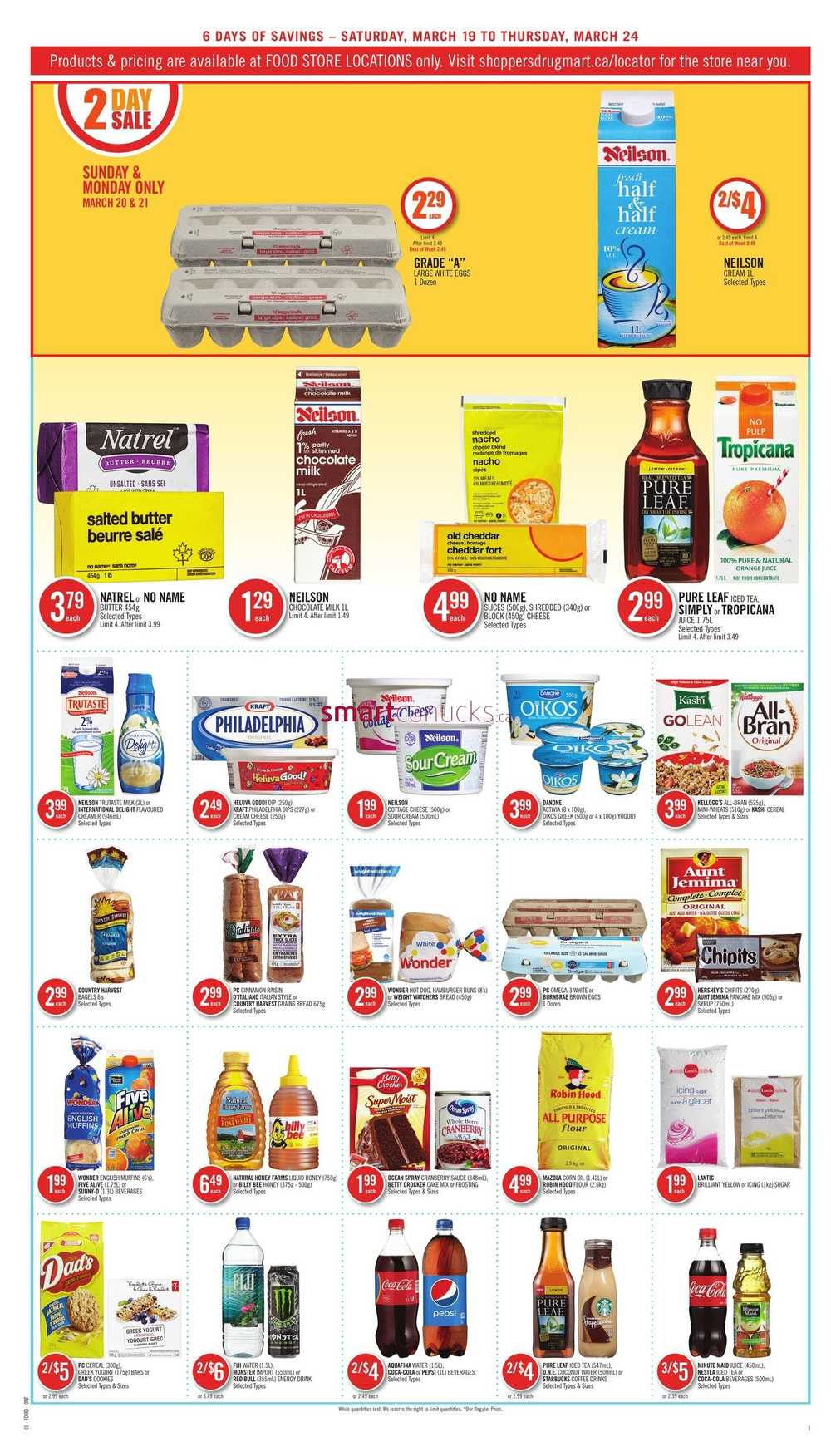 View the Shoppers Drug Mart Flyer, valid December 1 – December 7, Save with this week Shoppers Drug Mart Sale and weekly flyer deals & promotions. Providing customers with a broad variety of merchandise items and various pharmacy services, the retailer sources favorite brands and delivers the best in customer service.