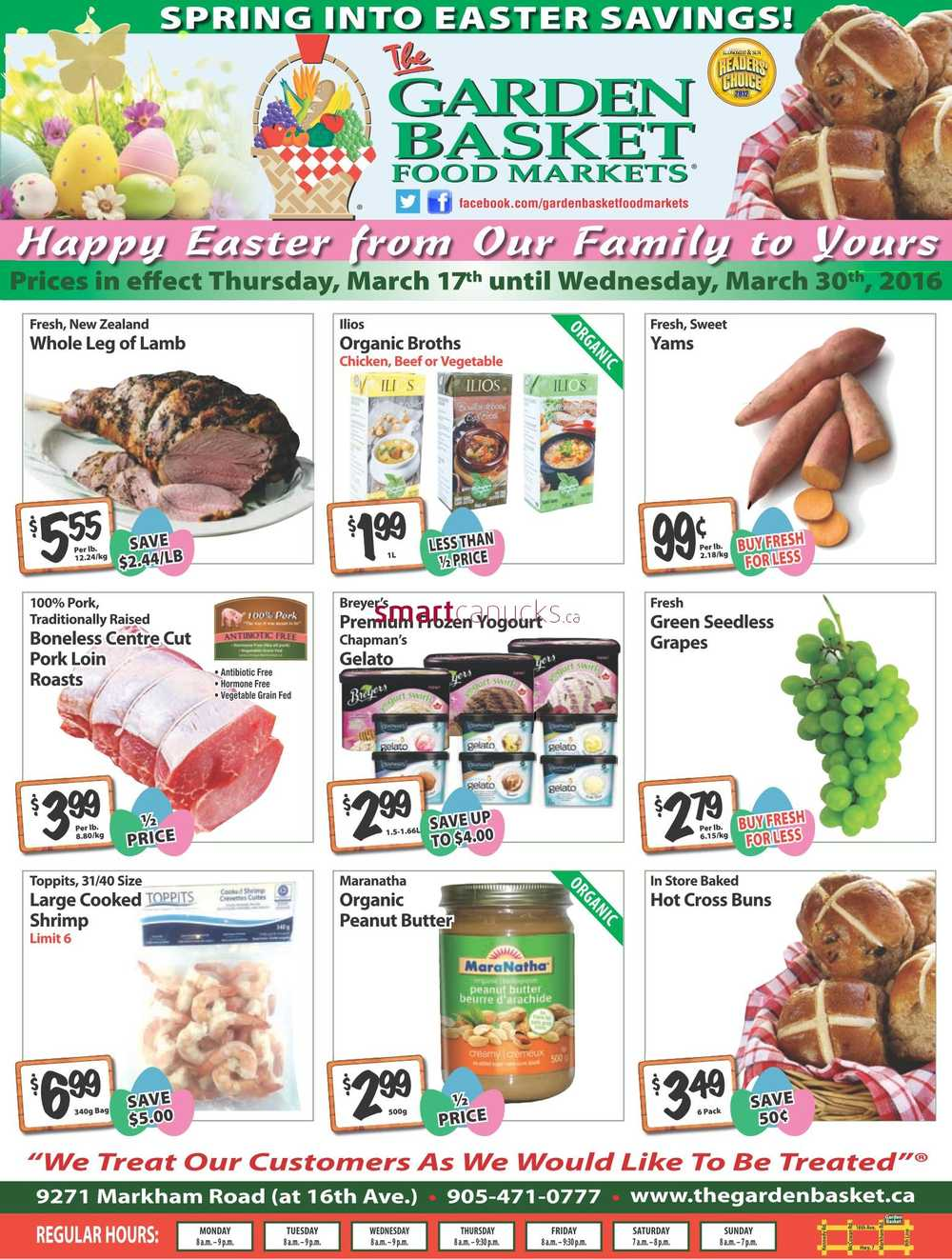 the garden basket flyer march 17 to 30