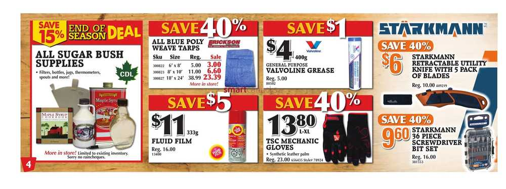 tsc stores flyer march 18 to 23