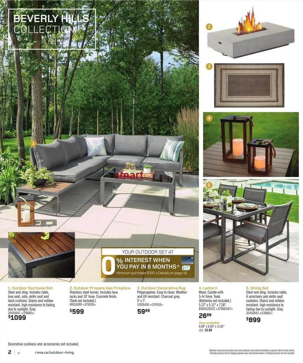 rona on spring catalogue march 24 to april 6