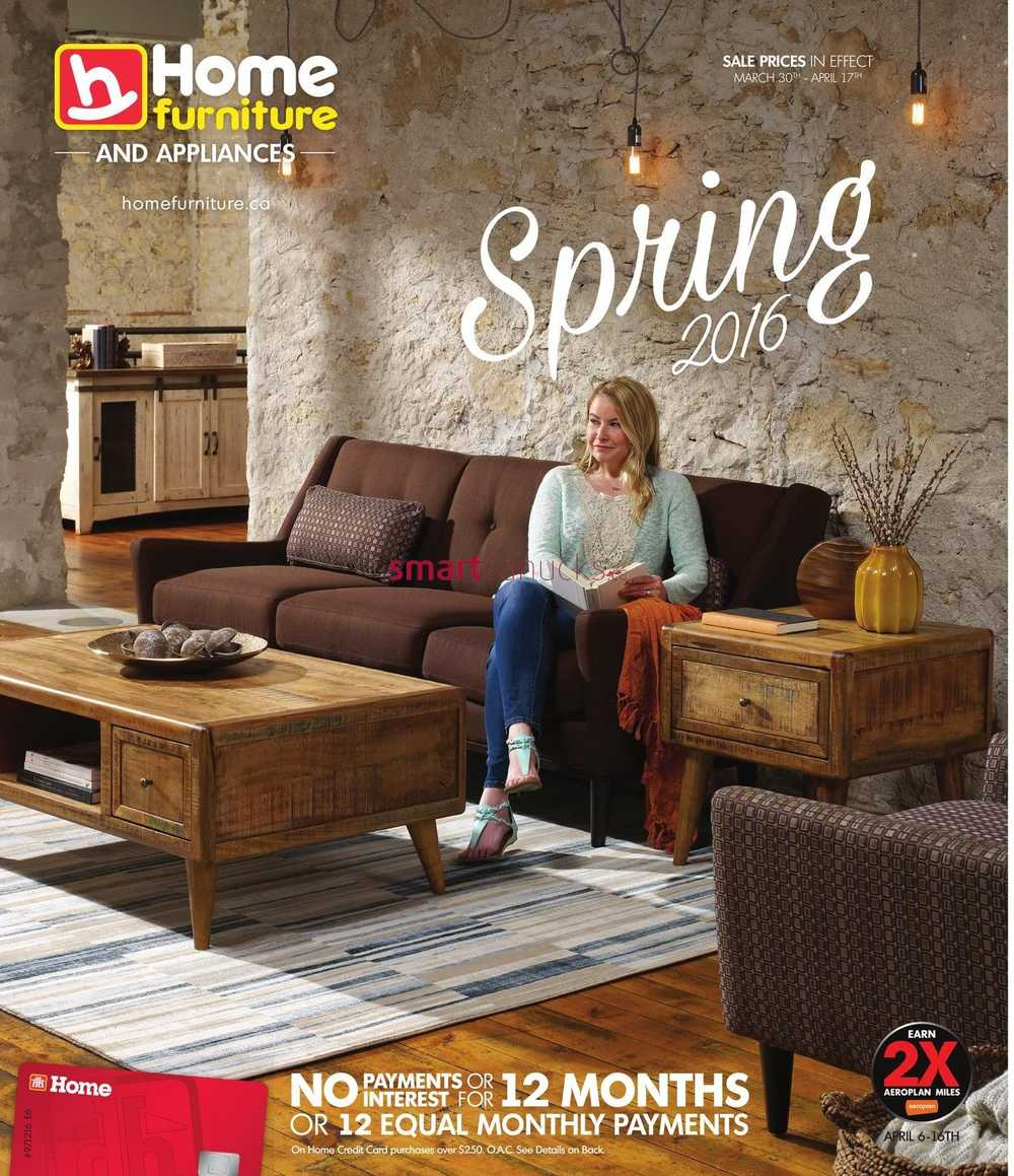 Home Furniture On Spring Catalogue March 30 To April 17