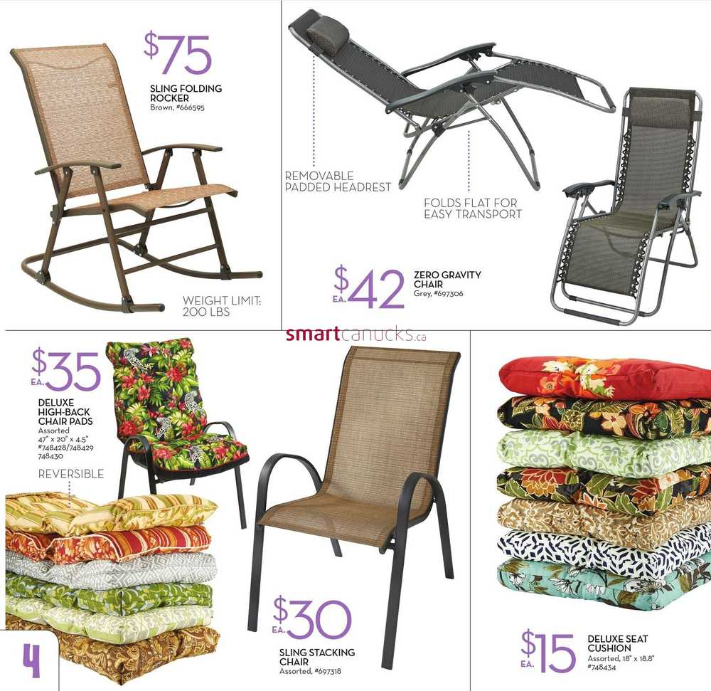 giant tiger outdoor living catalogue march 30 to may 3