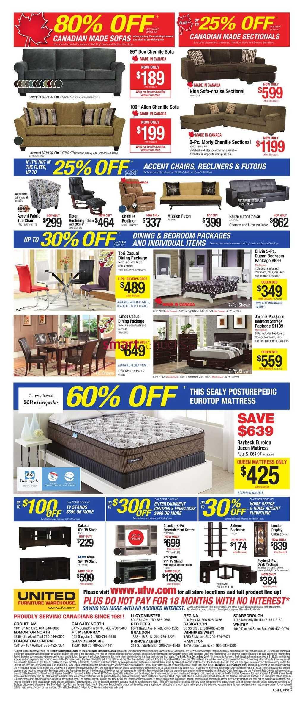 United Furniture Warehouse Com