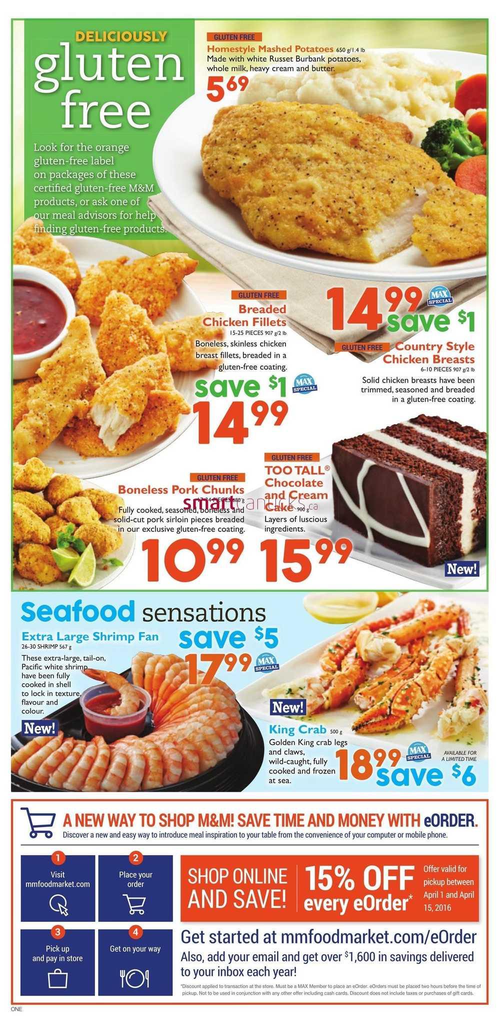M M Food Market Flyer