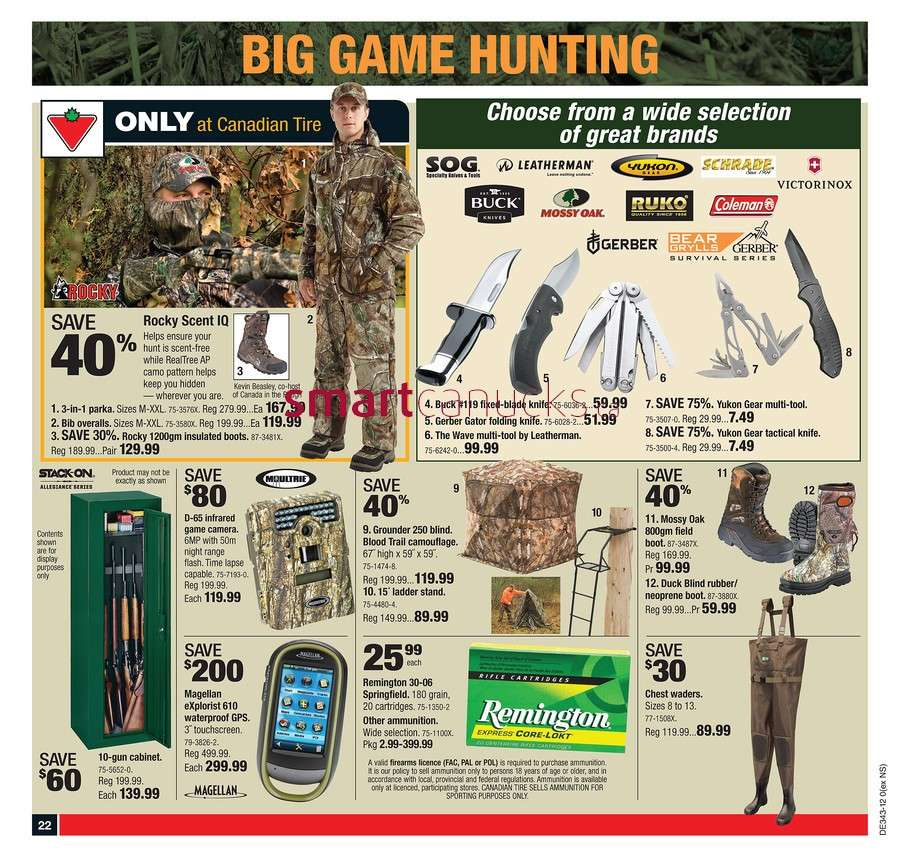 Canadian Tire flyer Oct 19 to 25