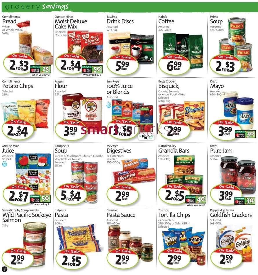 Smart City Foods Coupon