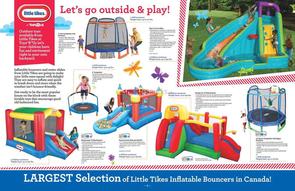 toys r us ultimate guide to outdoor fun april 15 to august 15
