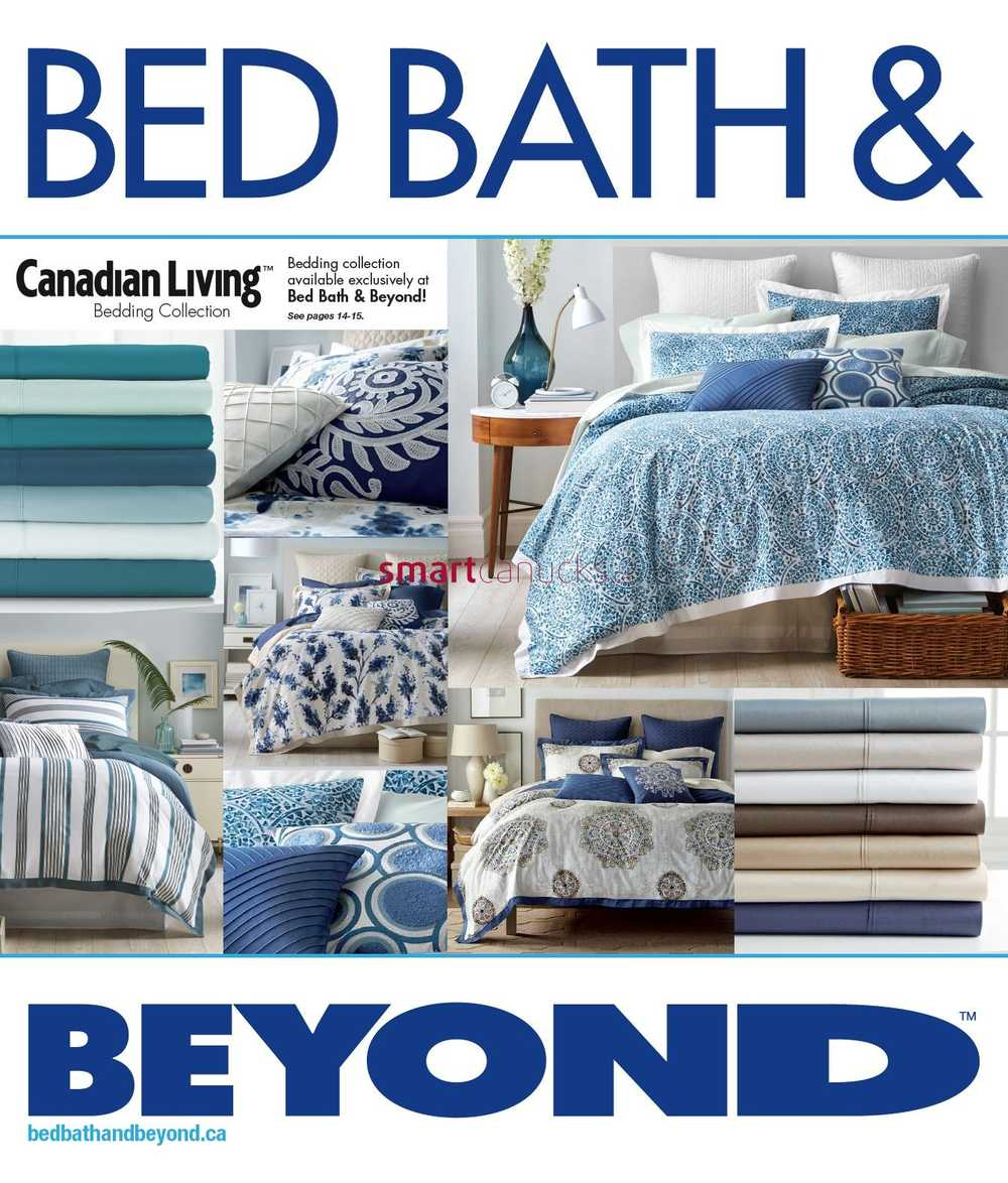 bed bath beyond canada flyers. Black Bedroom Furniture Sets. Home Design Ideas