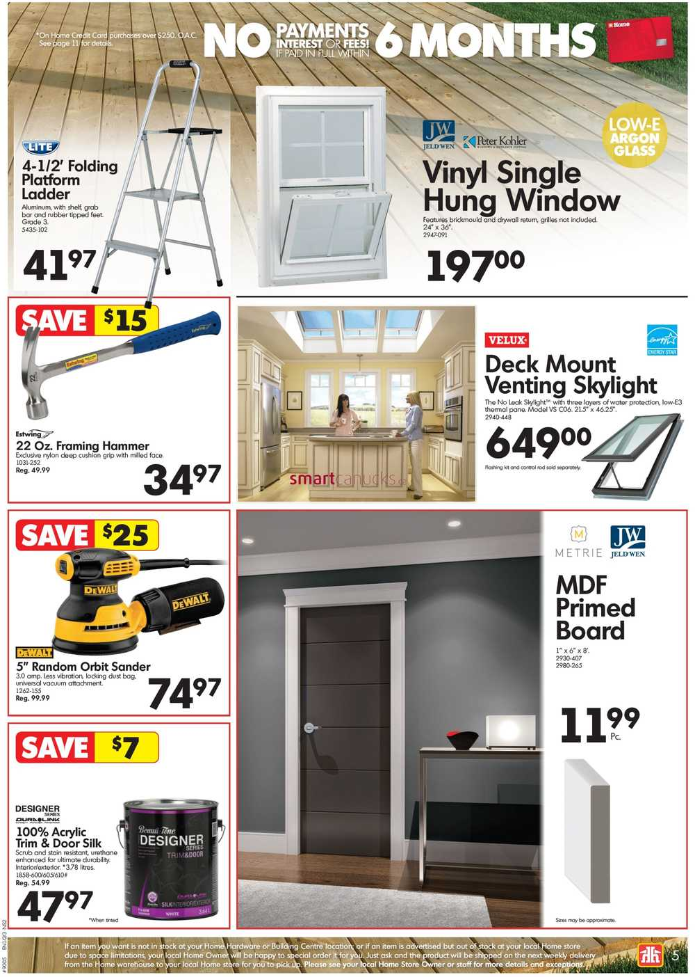 Home Hardware Building Centre Atlantic Flyer April 20 To 30