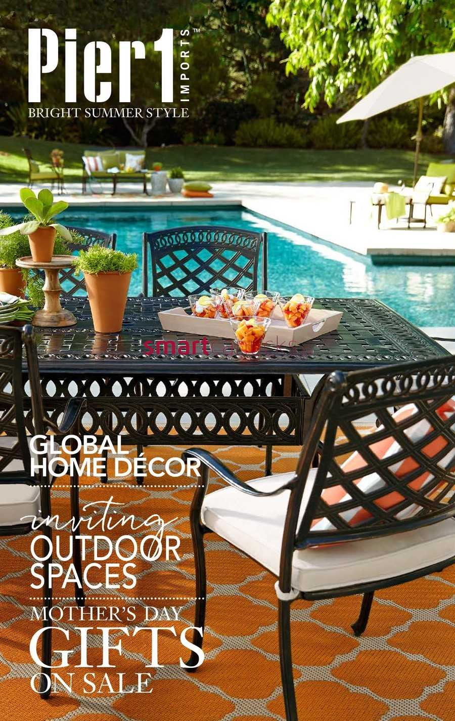 Pier 1 Imports Flyer April 25 to May 30. Pier 1 Imports Canada Flyers