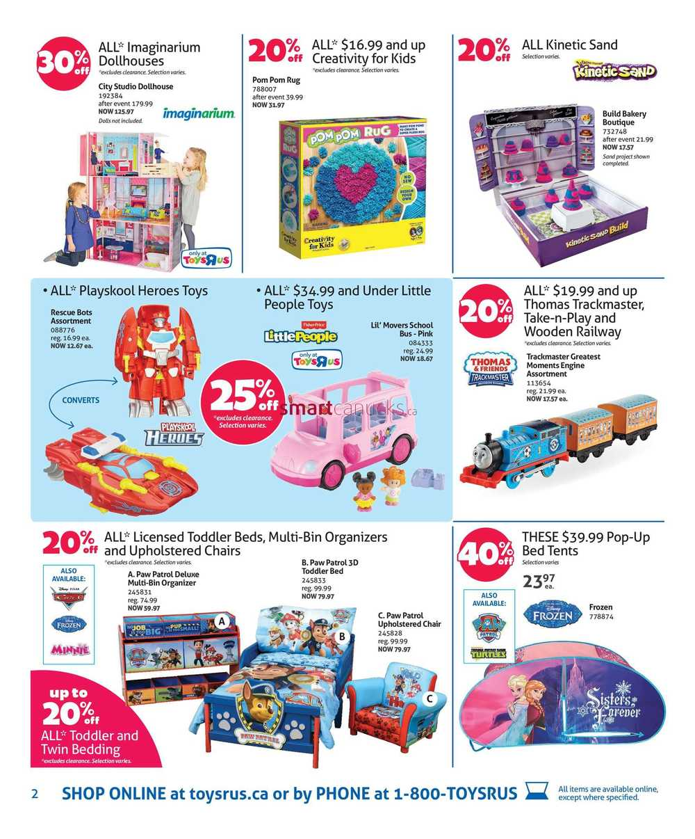 Toys R Us Flyer April 29 to May 5