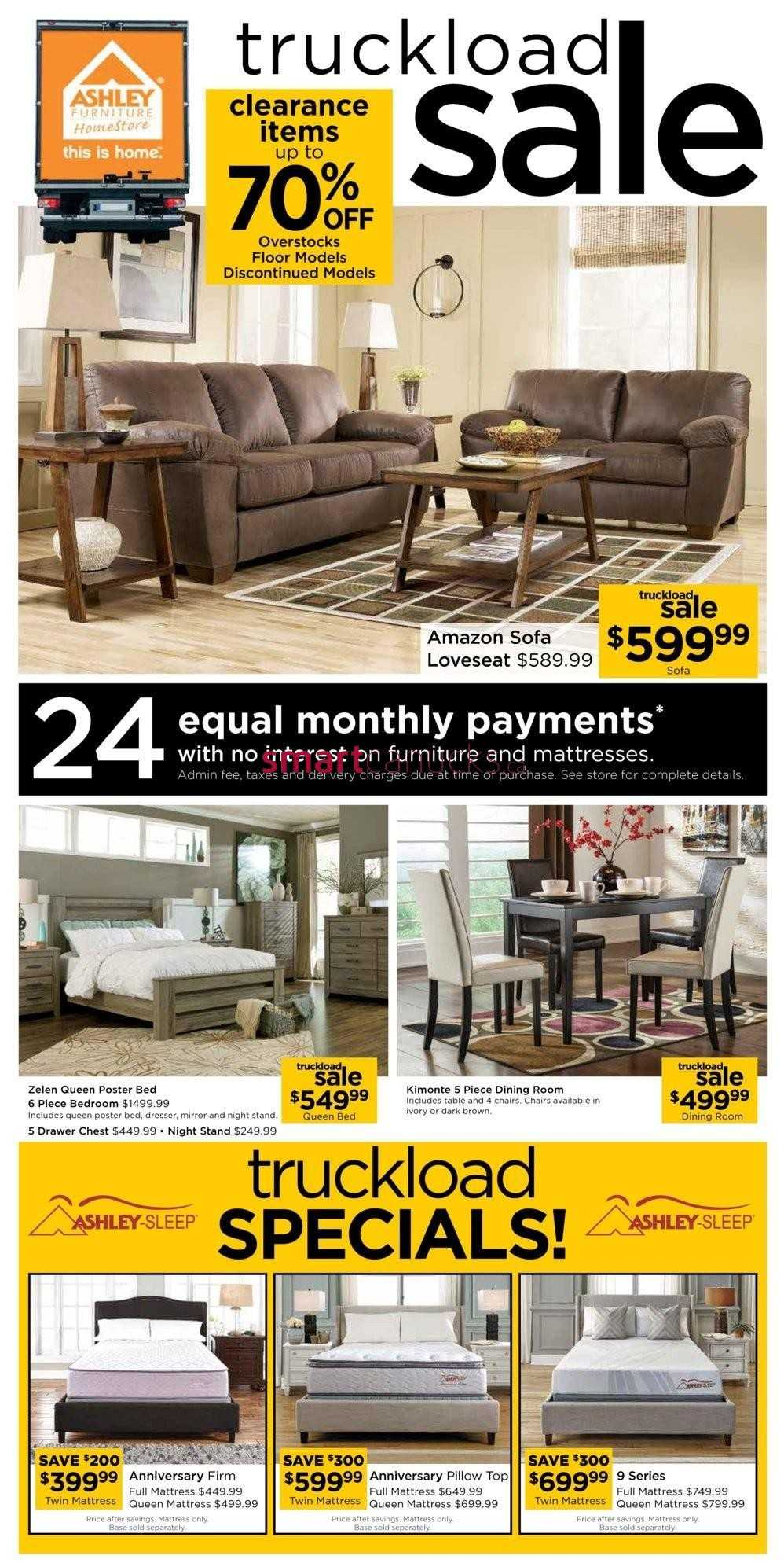 Ashley furniture homestore on flyer april 27 to may 11 for Ashley furniture homestore canada