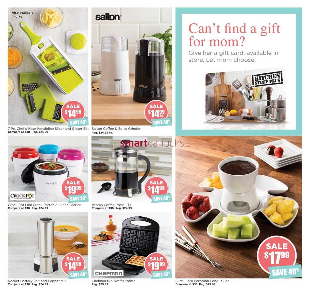 kitchen stuff plus mother u0027s day gift guide april 29 to may 8