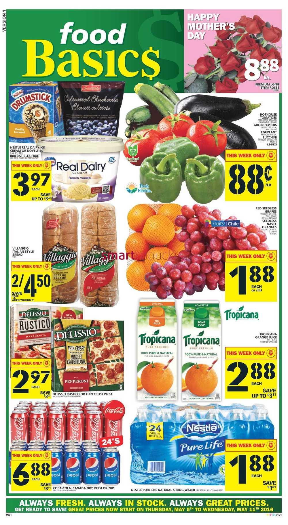Food Basics Flyer May 5 To 11