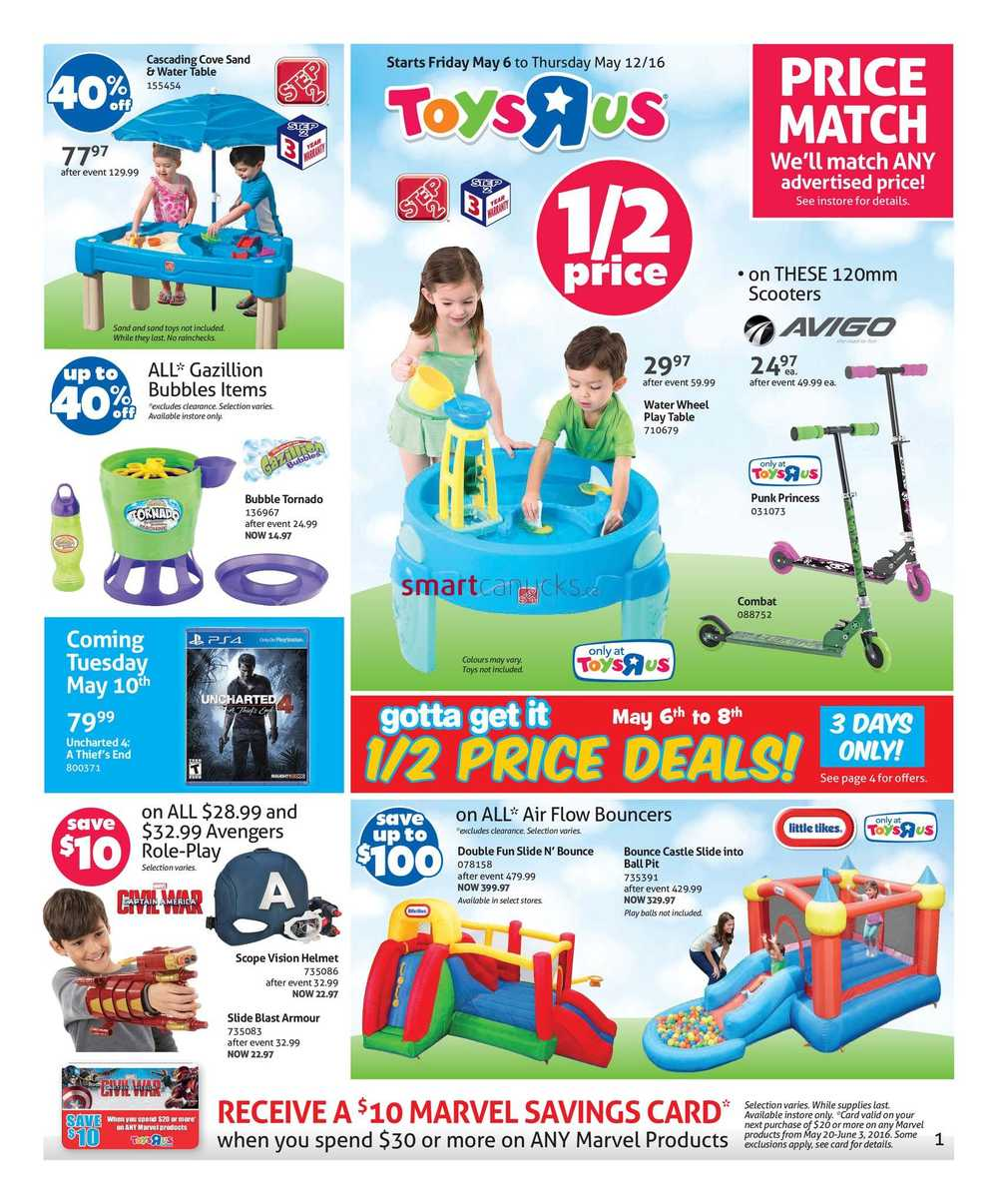 R Flyers Toys R Us Flyer May 6 ...