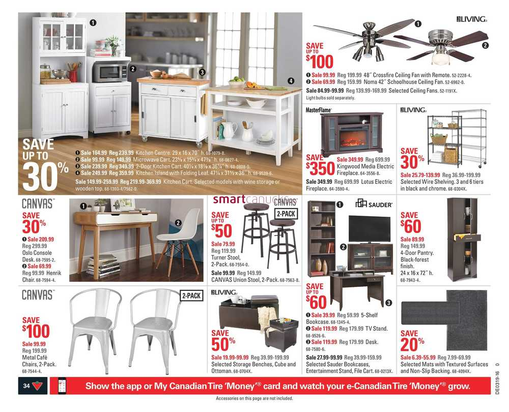 Canadian Tire On Flyer May 6 To 12 # Meuble De Tv Canadian Tire