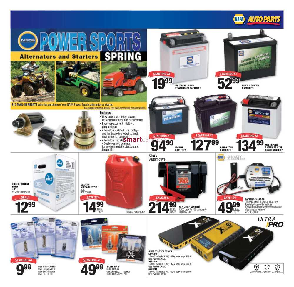 NAPA Auto Parts Flyer June 1 to 30