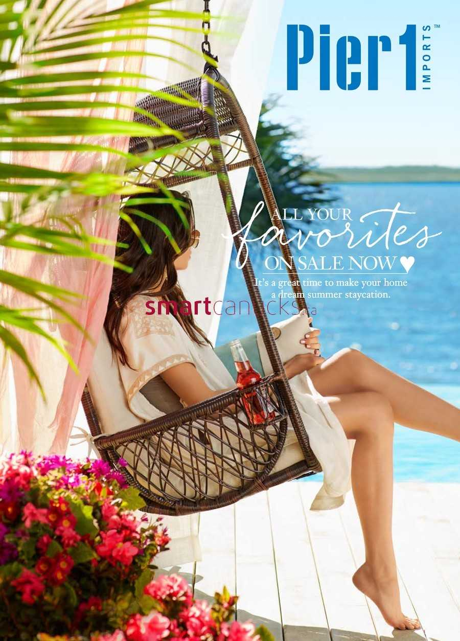 Pier 1 Imports Flyer May 31 to June 23. Pier 1 Imports Canada Flyers