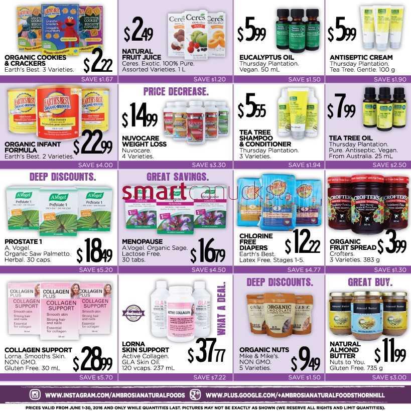 Ambrosia Natural Foods Coupons