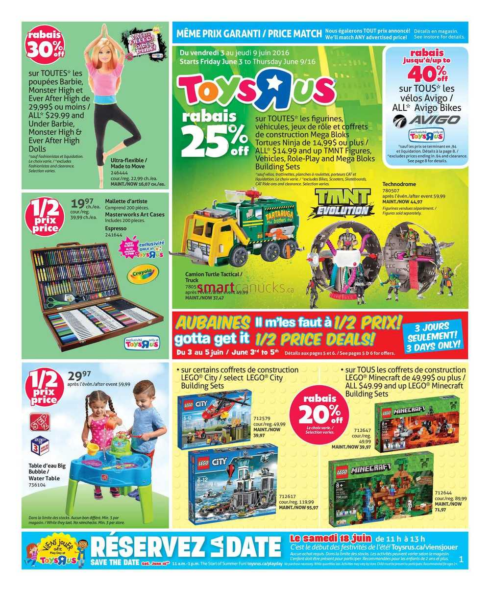 Toys r us canada coupons june 2018