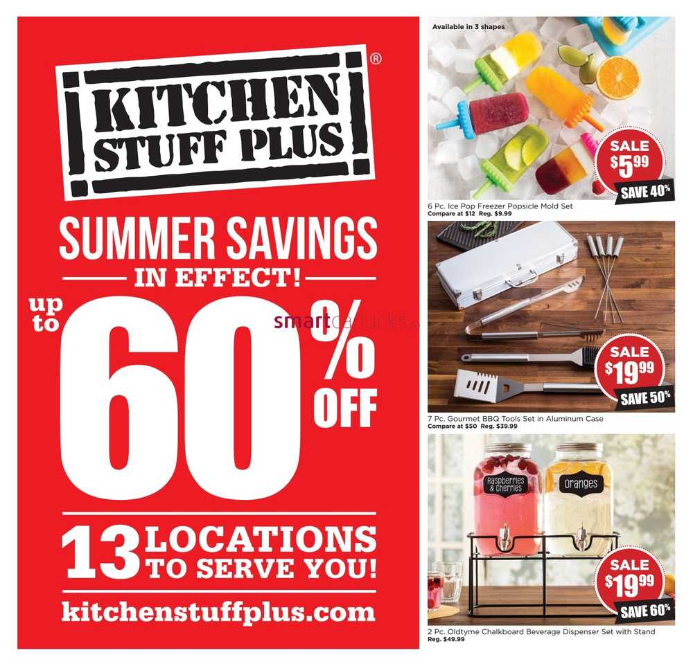 Kitchen Stuff Warehouse Sale