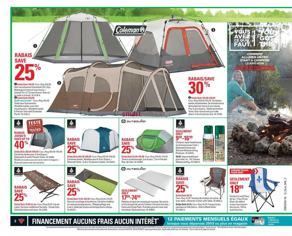 Canadian Tire (QC) Flyer June 24 to 30.  sc 1 st  Canadian Flyers - Smart Canucks & Canadian Tire (QC) Flyer June 24 to 30