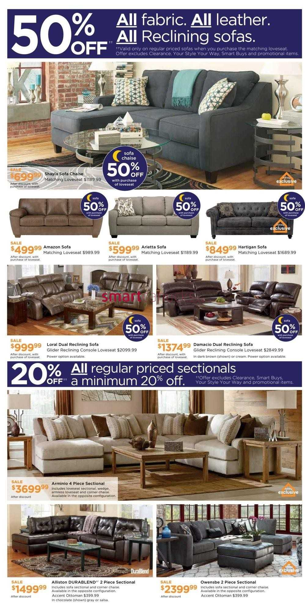 Ashley Furniture Homestore On Flyer June 22 To 26