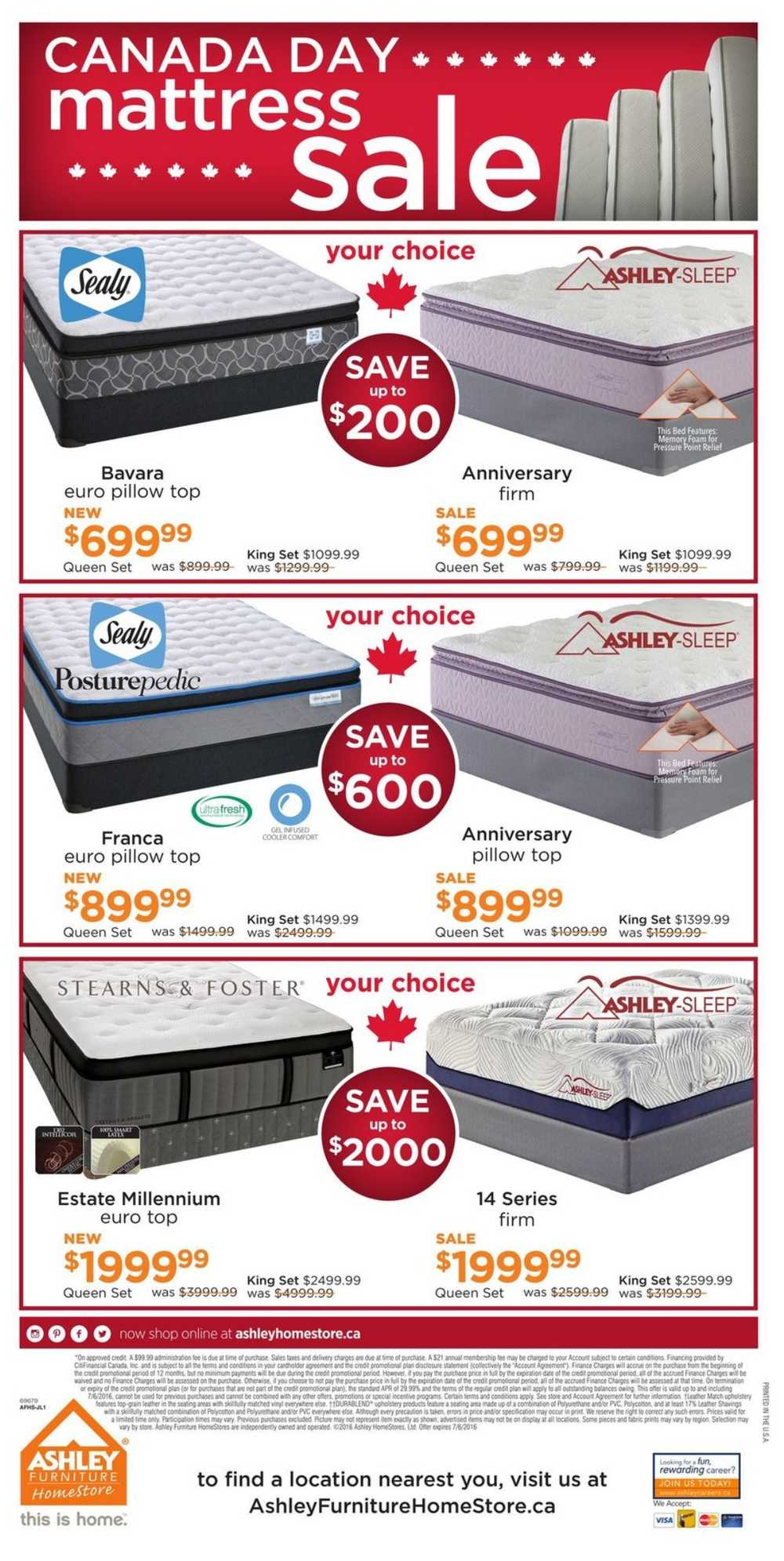 Ashley home furniture coupons
