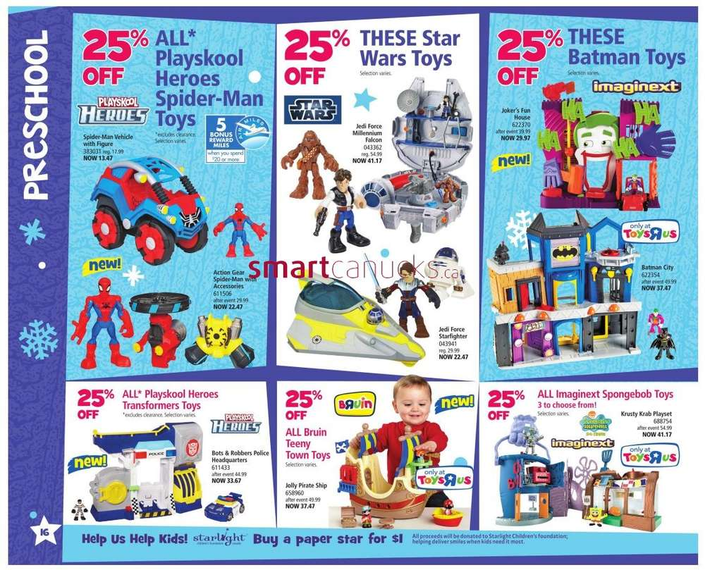 Toys R Us Toy Book valid from Nov 2 to 15