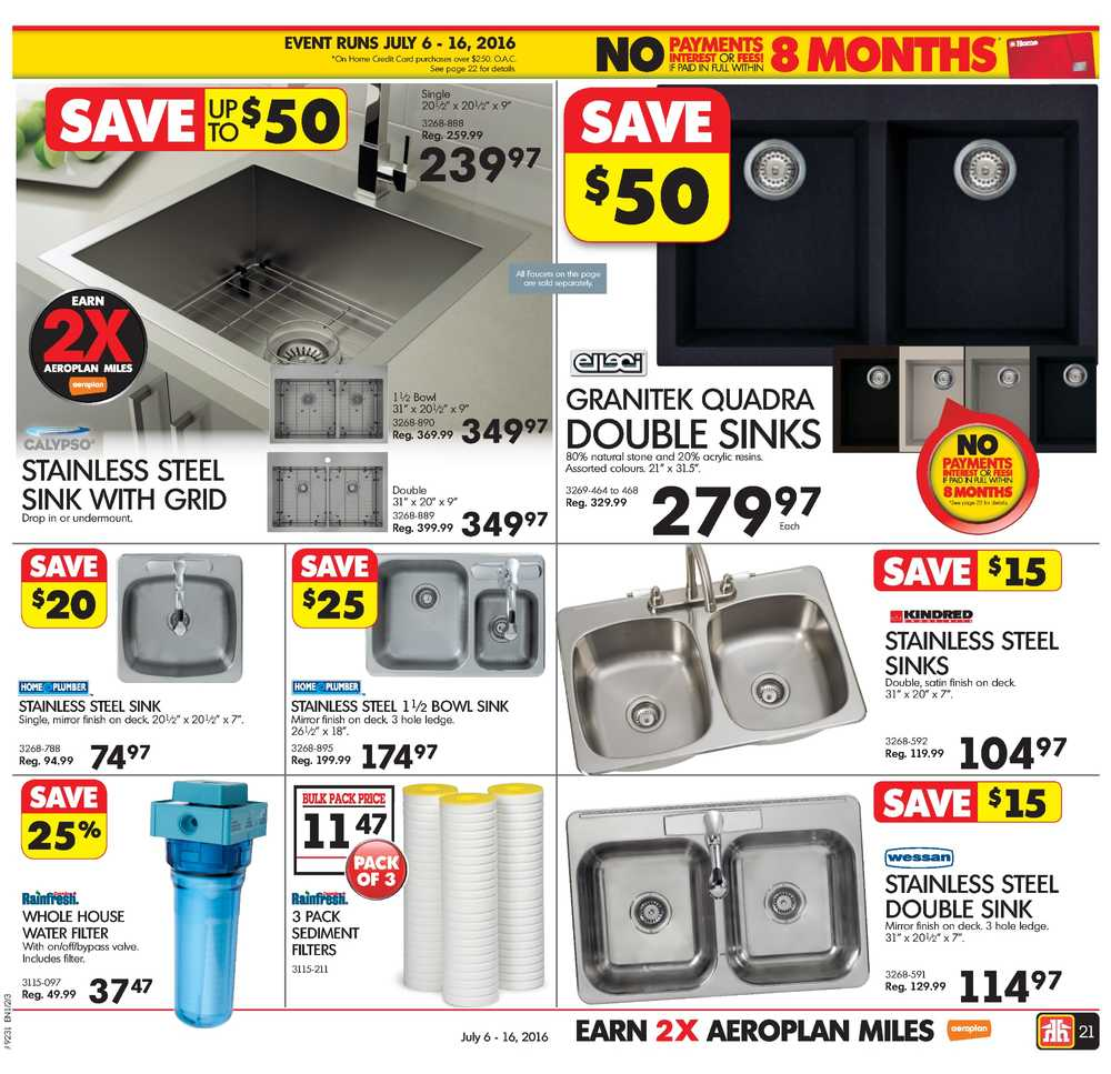 Home Hardware Atlantic Flyer July 6 To 16