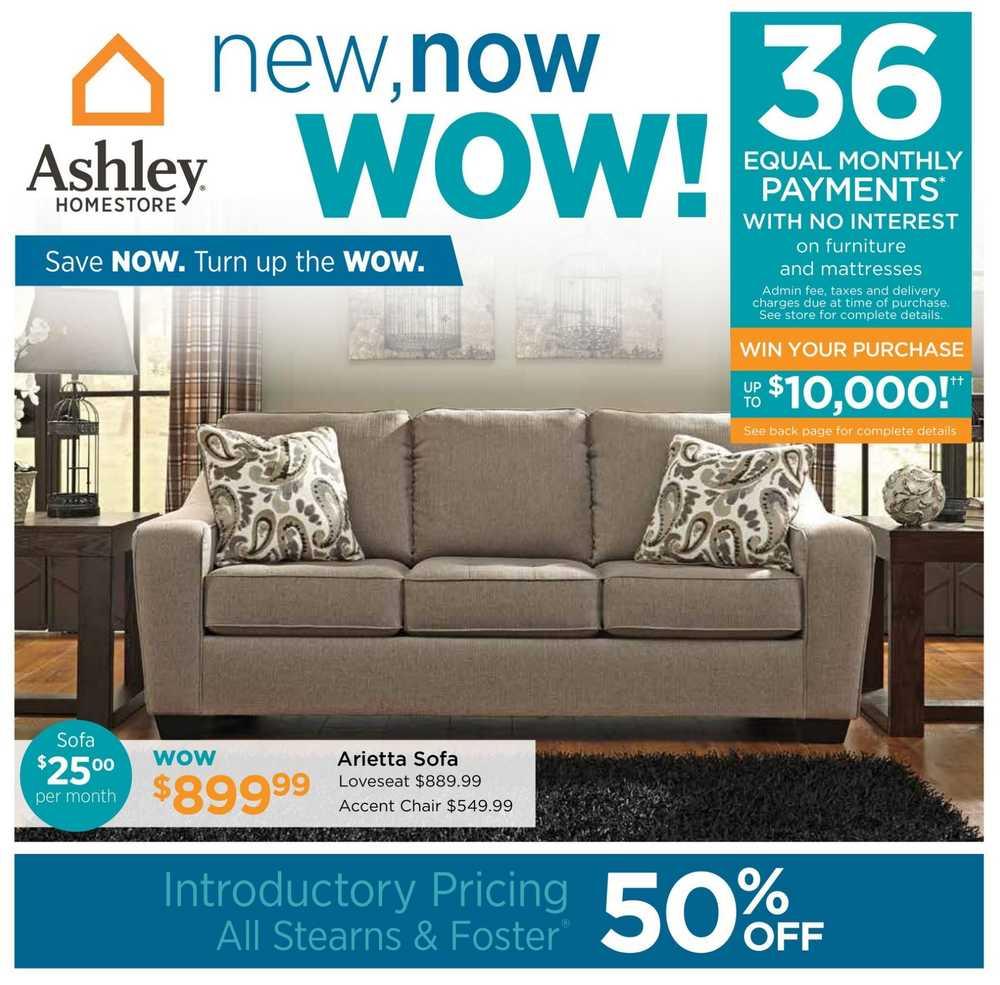 Homestore Inc: Ashley Furniture HomeStore (ON) Flyer July 7 To 24