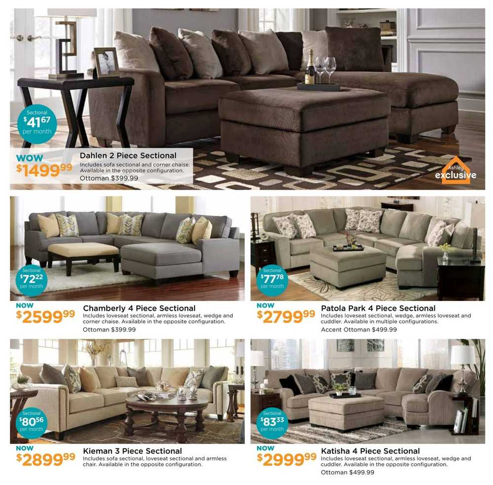 Ashley furniture homestore on flyer july 7 to 24 for Ashley furniture homestore canada
