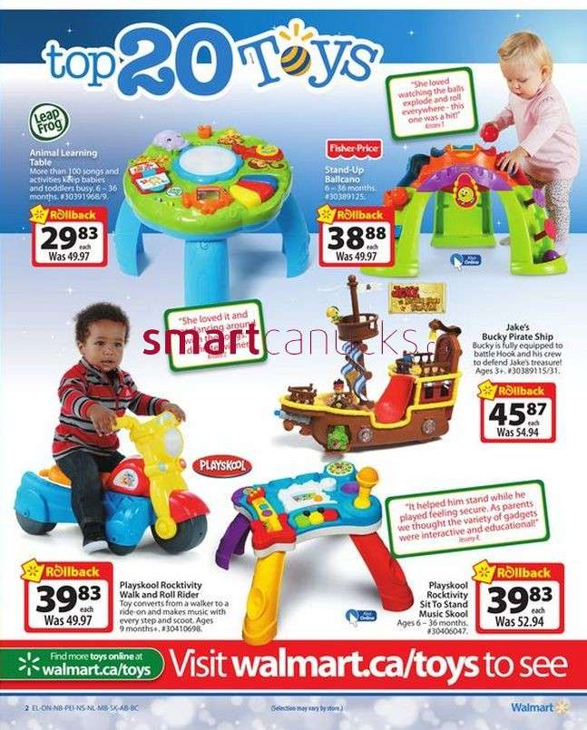 Toys For Boys Catalogue : Walmart toy catalogue valid from nov to
