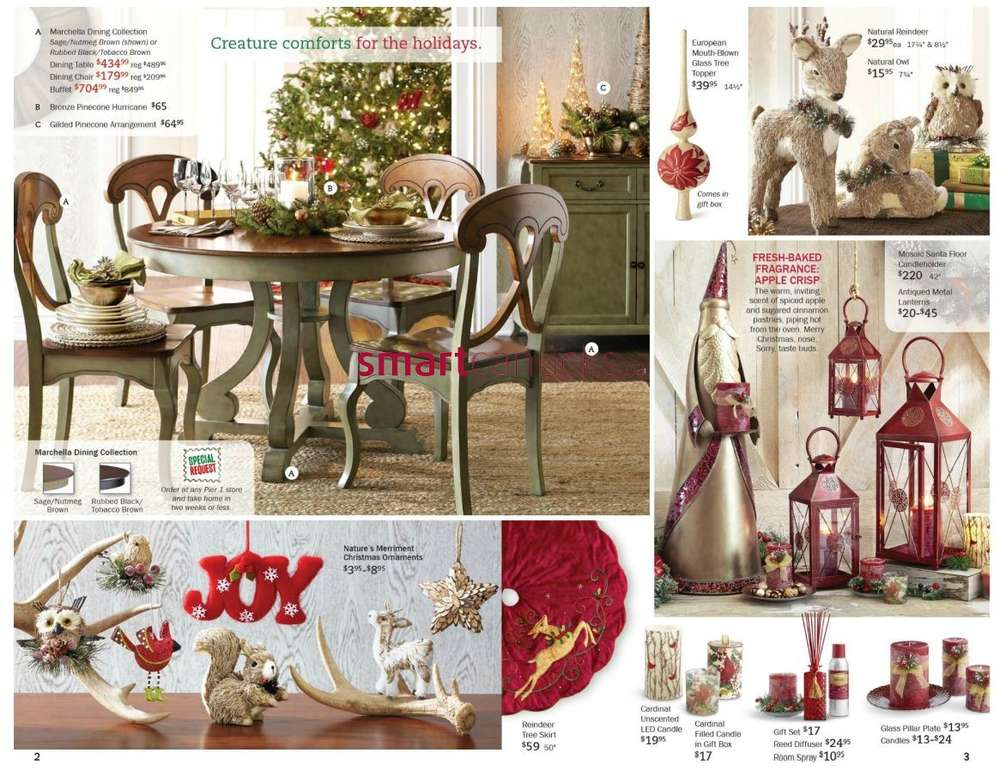 More Pier 1 Imports Flyers. Pier 1 Imports Mailer Oct 29 to Nov 26