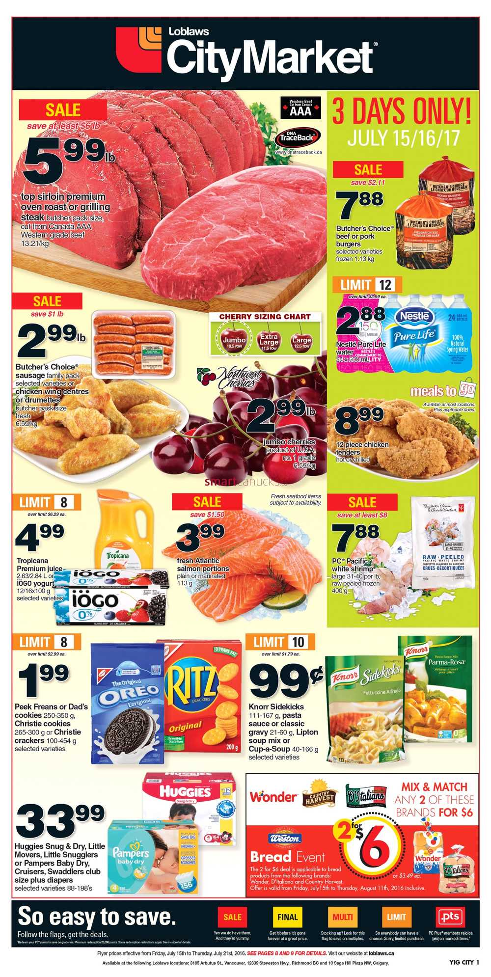 Supermarket coupons canada