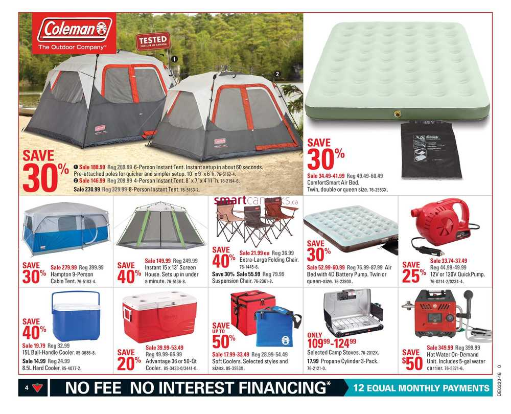 Canadian Tire (ON) Flyer July 22 to 28.  sc 1 st  Canadian Flyers - Smart Canucks : tent poles canadian tire - memphite.com