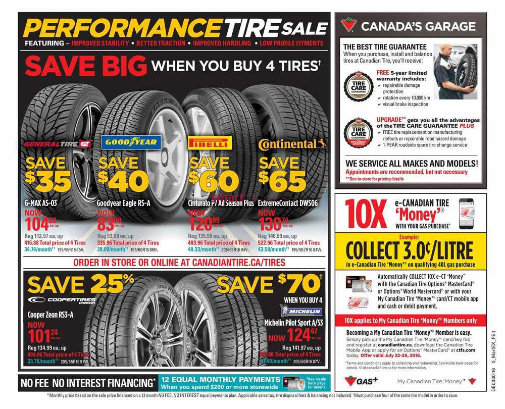 Canadian Tire (Atlantic) Flyer July 22 to 28