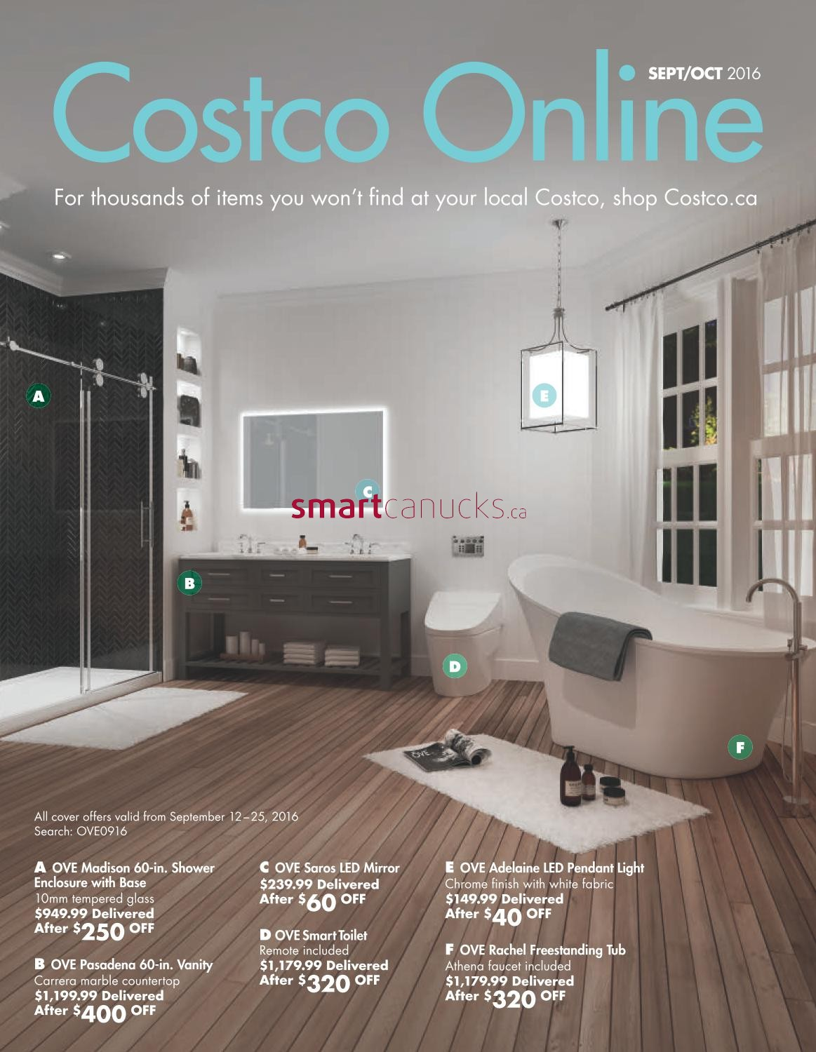 Costco Online Catalogue September 1 To October 31