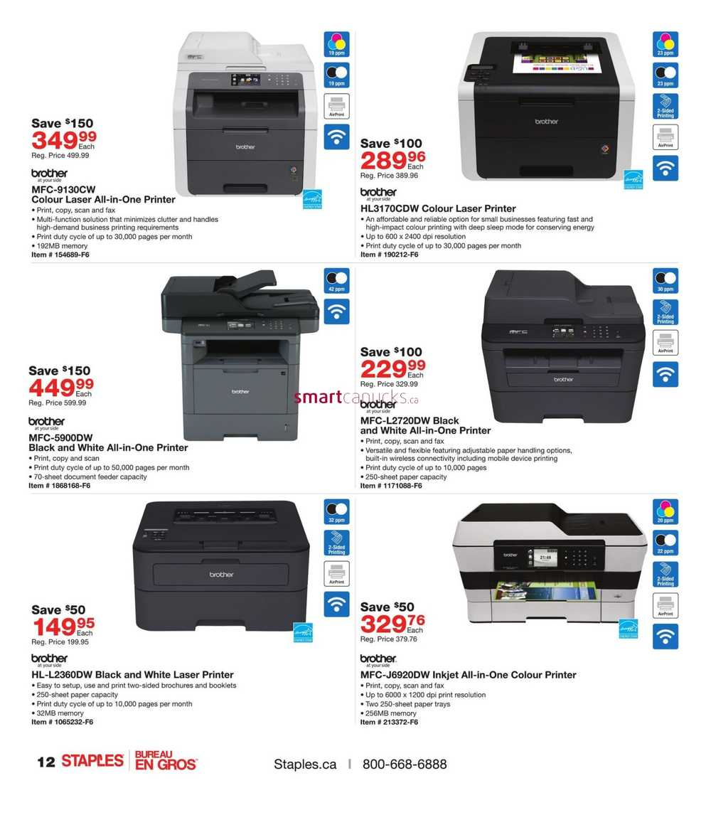 Staples Flyer August 03 To 16