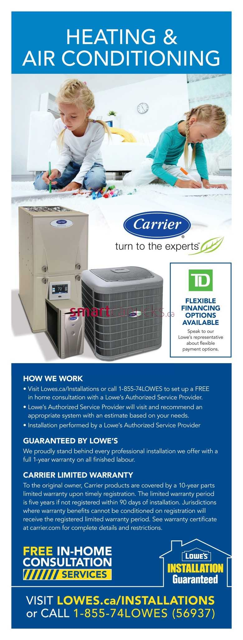 Lowe's Canada Flyers August 4 to 10