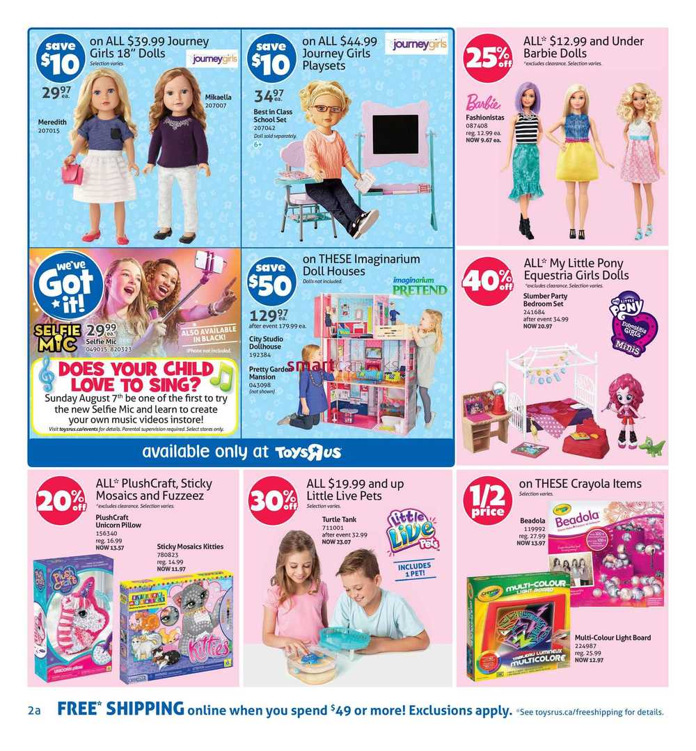 Toys R Us Canada Flyer August 5 To 11
