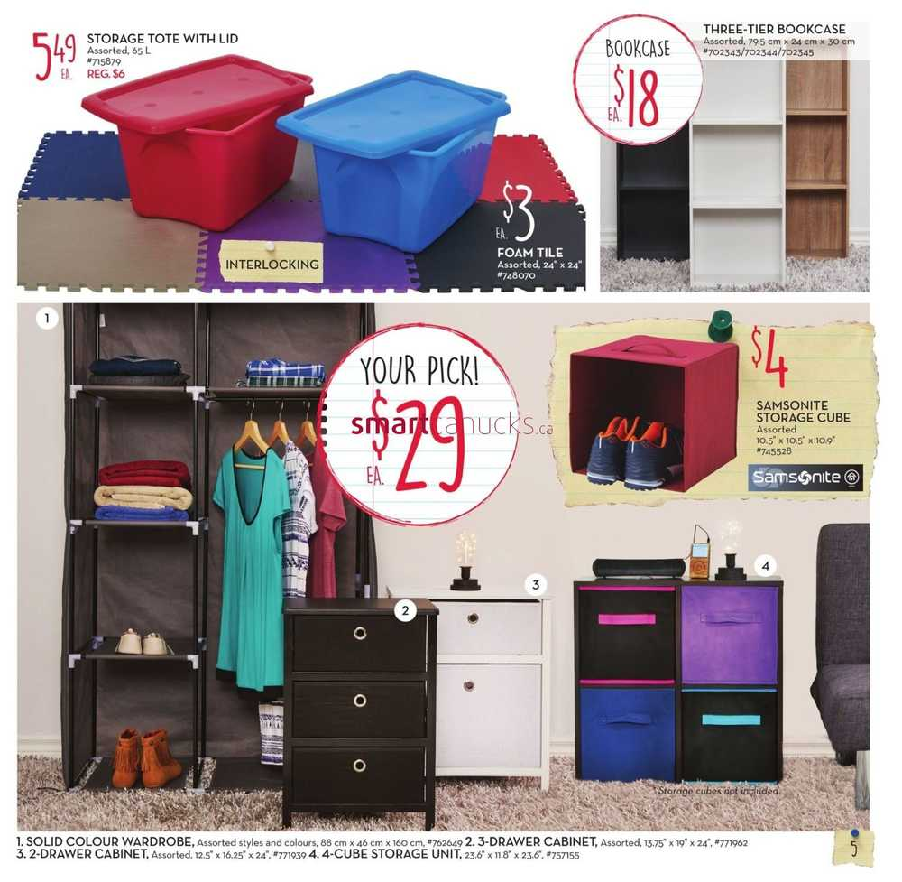 Giant Tiger Back to School Dorm Look Book & $5 off Coupon