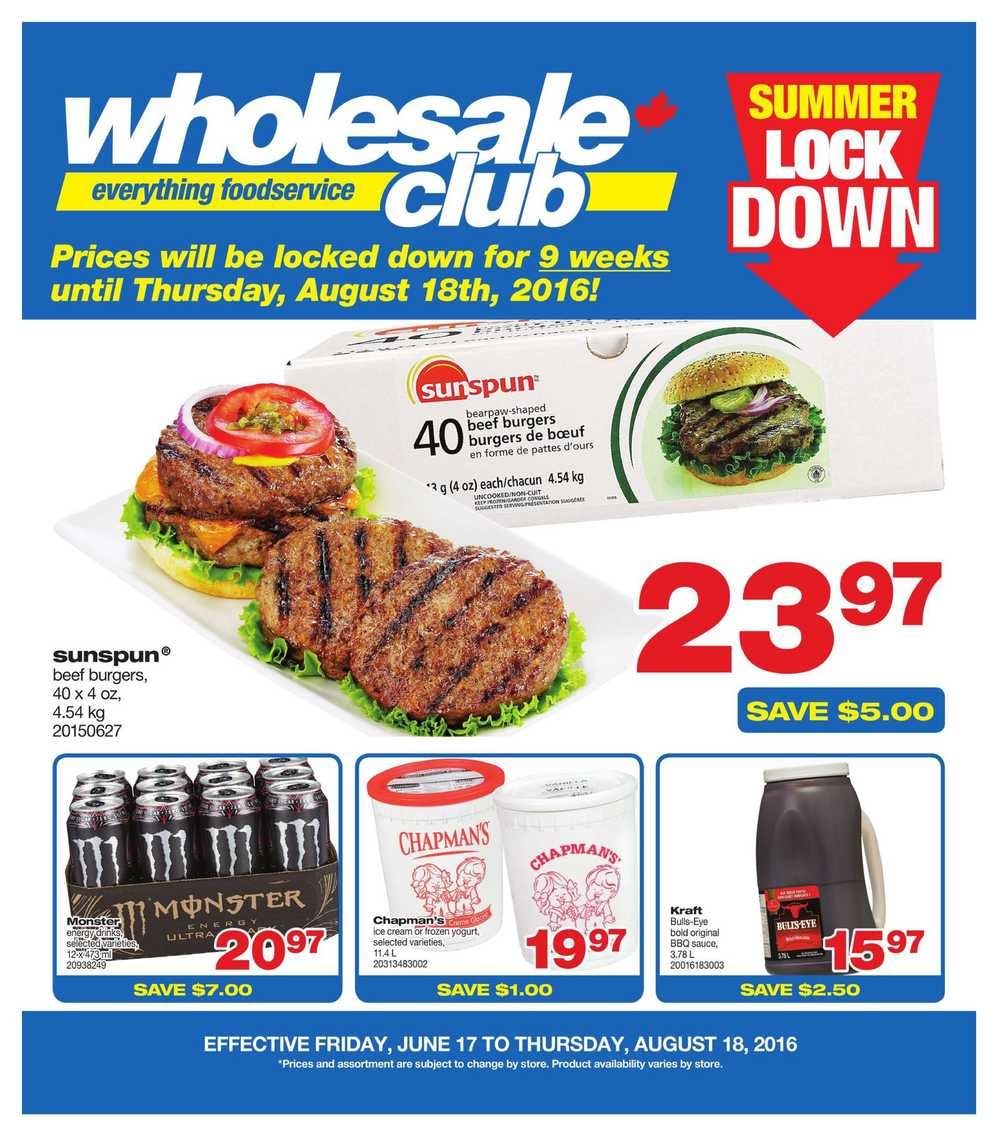 Find here the latest Wholesale Club flyer and the best deals and coupons from Grocery Stores in Winnipeg. Save with Tiendeo!