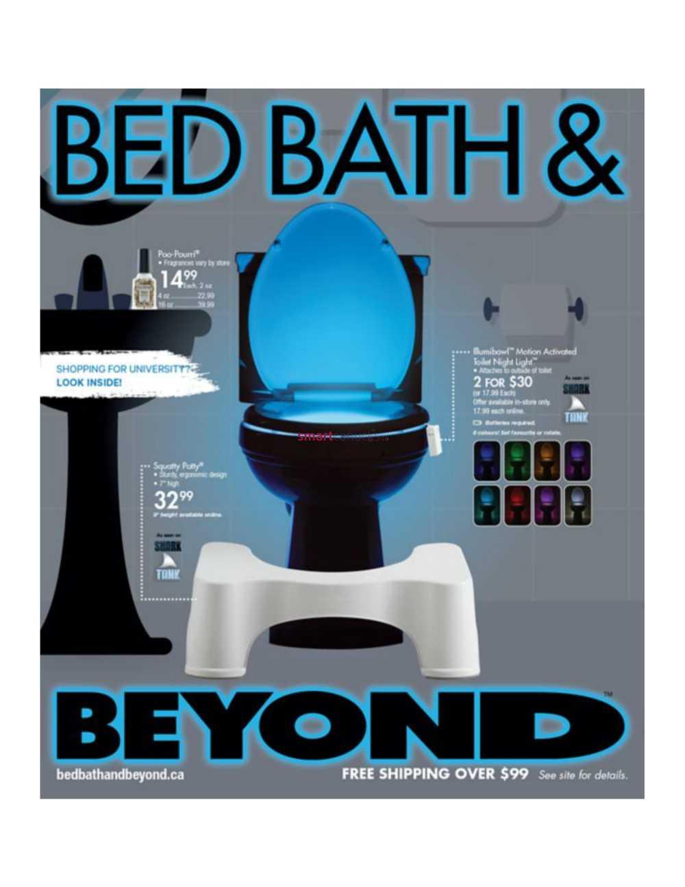 Bed Bath & Beyond August Circular