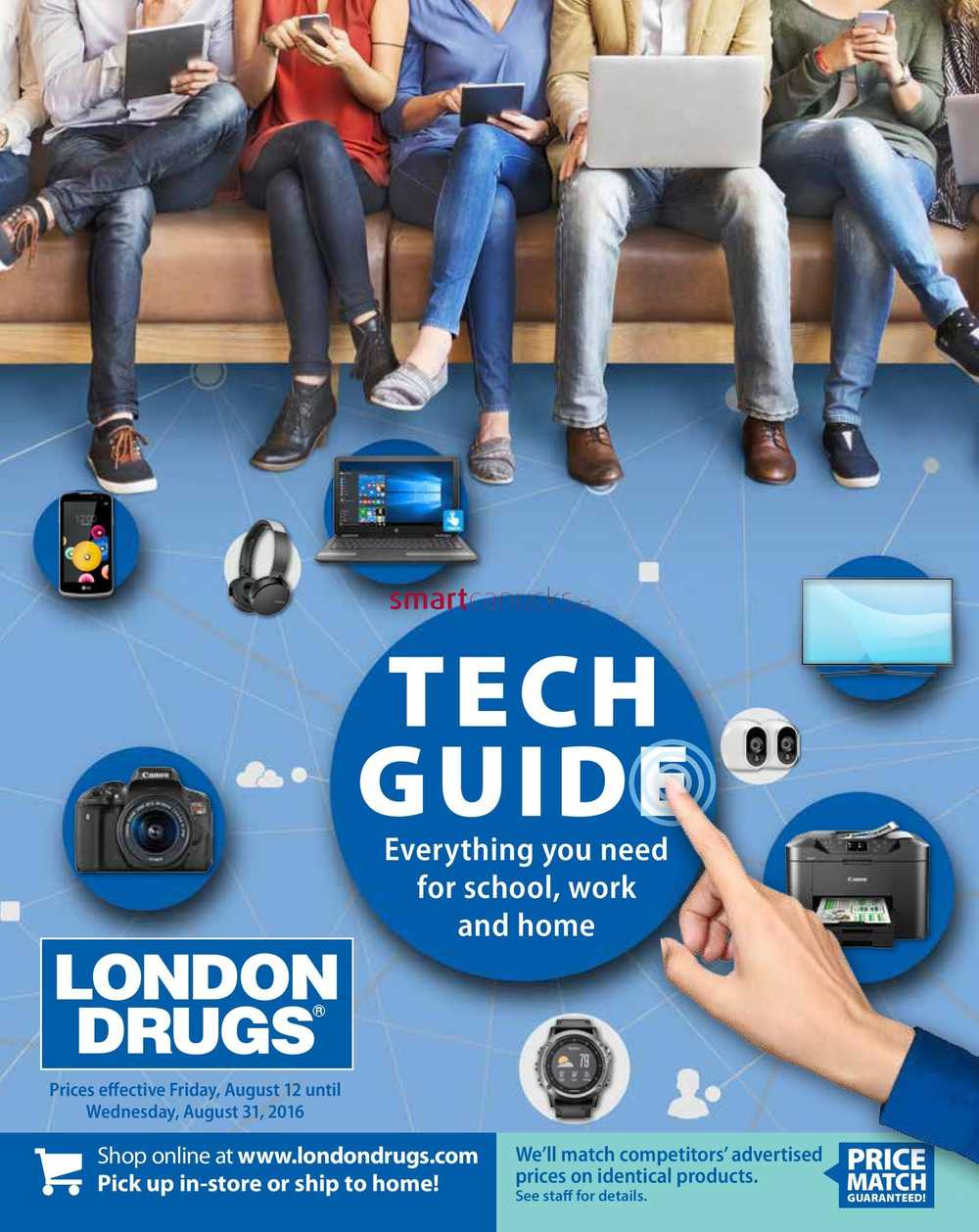 london drugs tech guide flyer august 12 to 31