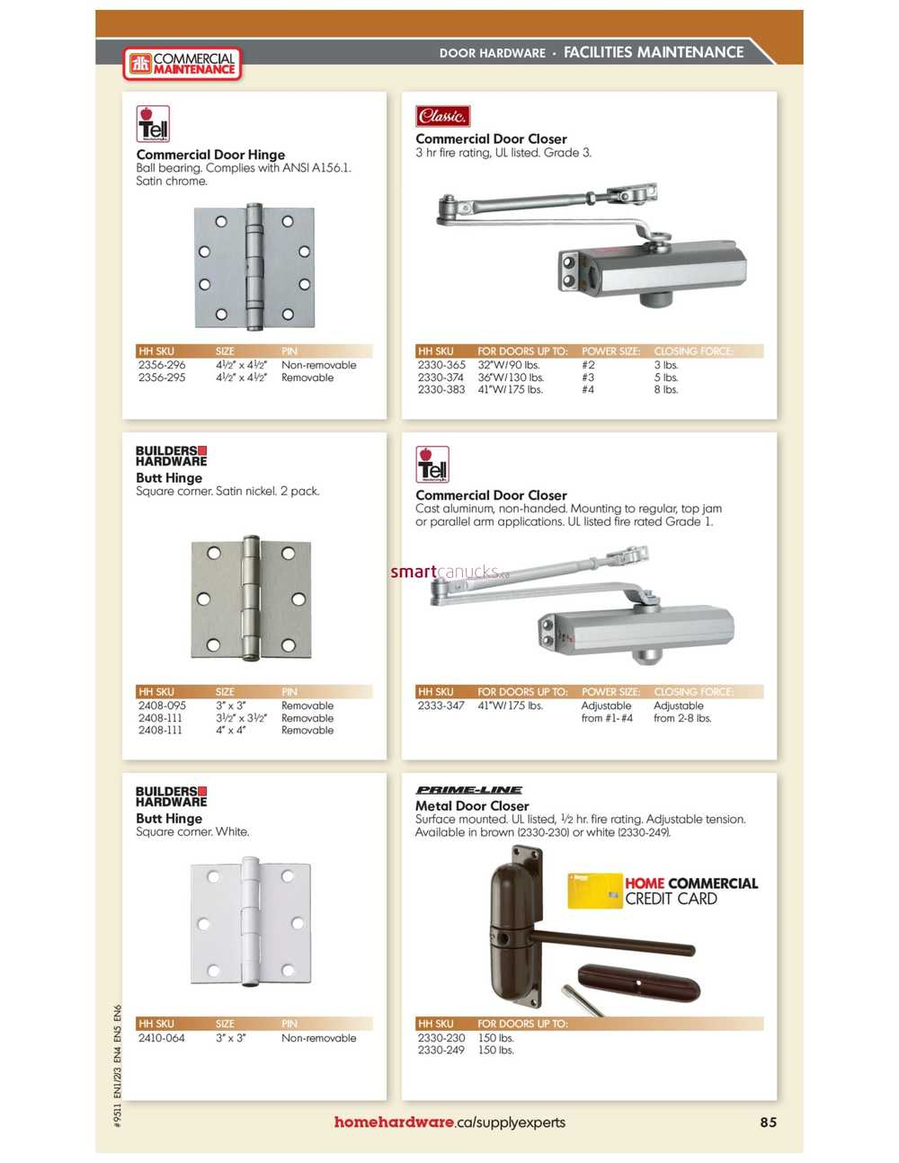 Home Hardware Commercial Maintenance Catalogue