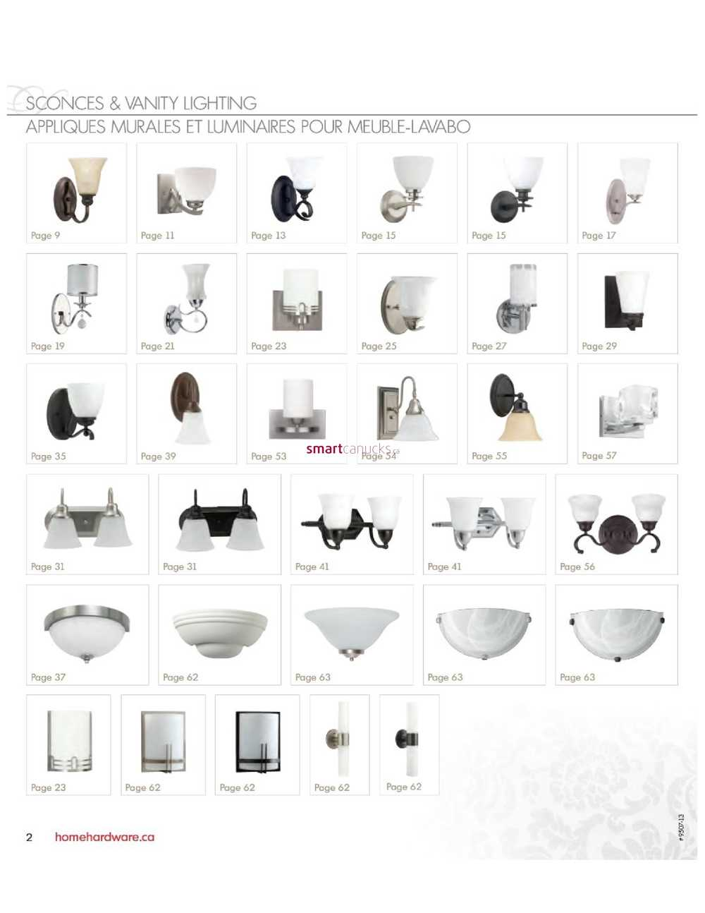 Home Hardware Lighting/Electrical Catalog