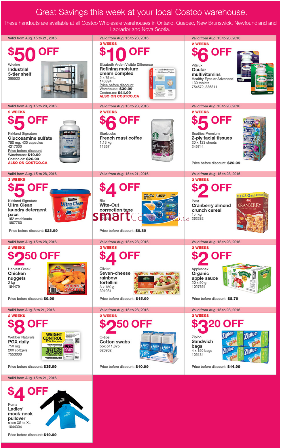 Costco coupons canada 2018