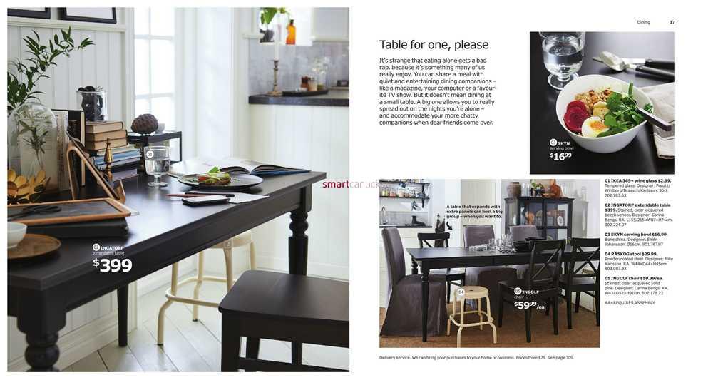 IKEA Canada 2017 Catalogue & Flyer