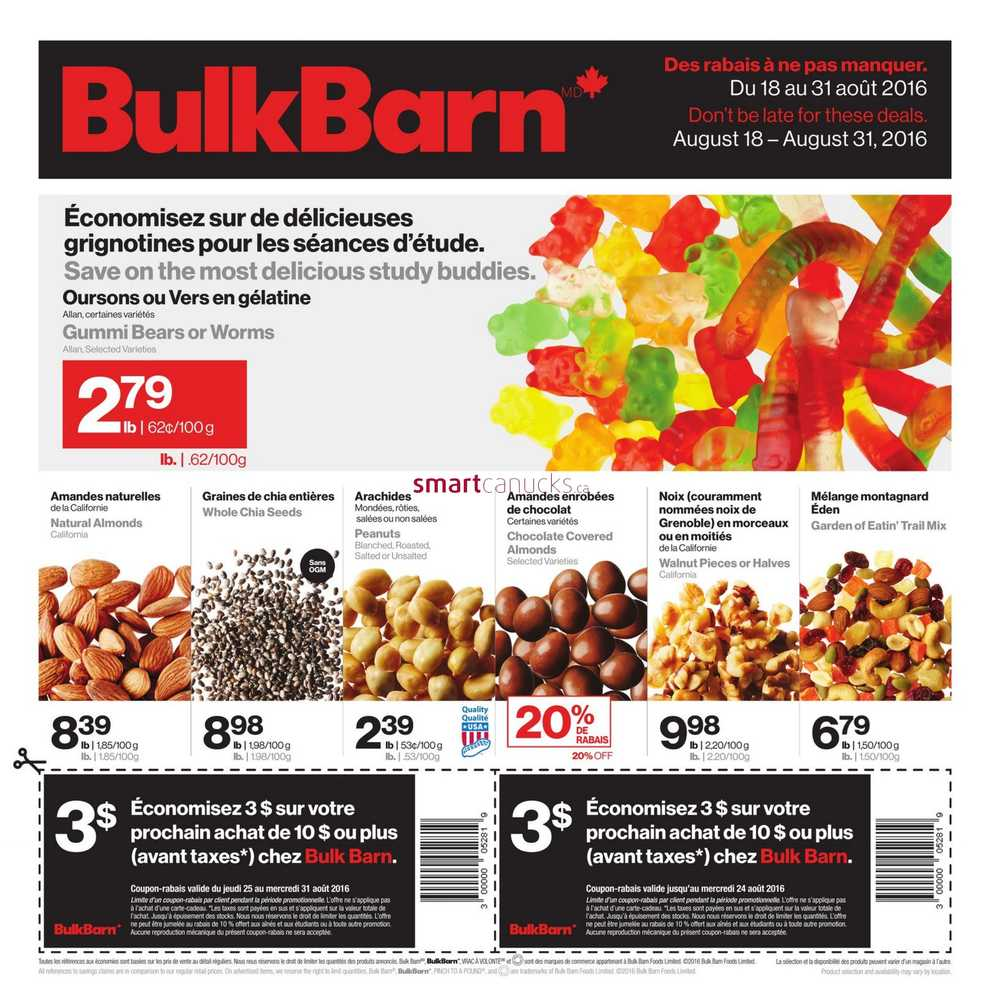 Bulk barn coupon canada july 2018 / Best deals on womens